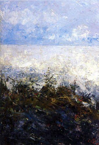 August Strindberg - Beach flowers, Dalarö