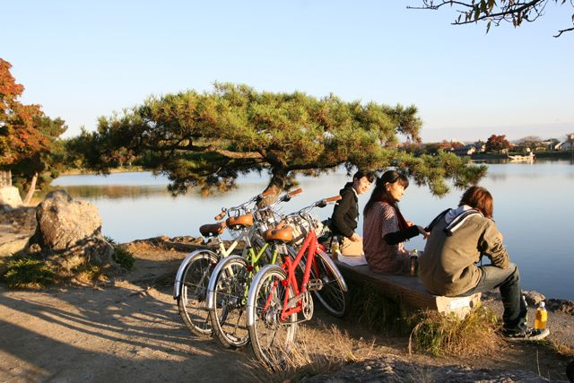 Kyoto Cycling Tour Project - Kinkaku Arashiyama Golden Cycling Tour
