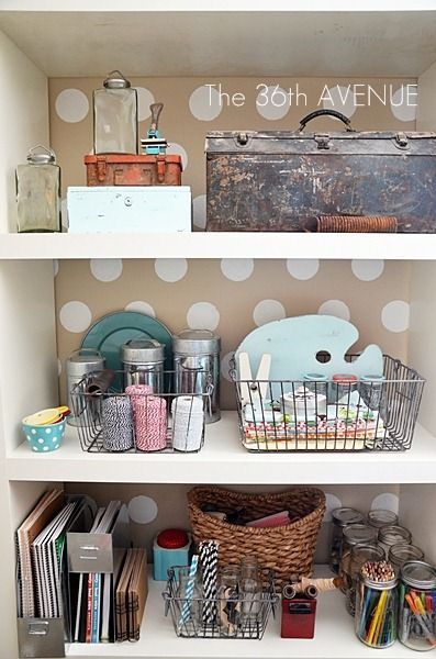 Craft Room Makeover and tons of organization tips!