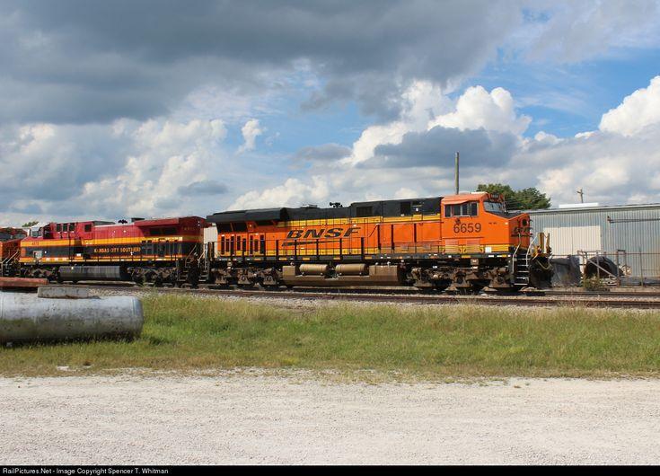 RailPictures.Net Photo: BNSF 6659 Burlington Northern Santa Fe ES44C4 at Marshfield, Missouri by Spencer T. Whitman