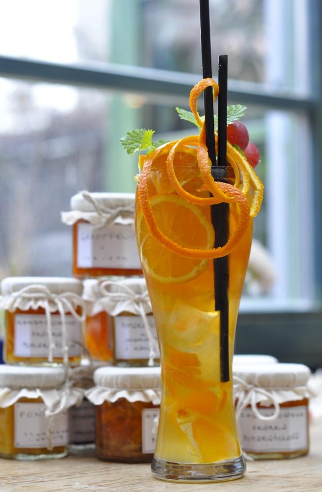 Icetea Zielona Weranda With special homemade confiture. #iceteac #fresh #drink