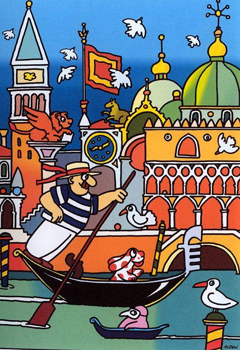 """""""X"""" - Mostra internazionale di illustratori contemporanei a Genova Nervi alle Raccolte Frugone. Ospite d'onore: il vignettista Altan"""