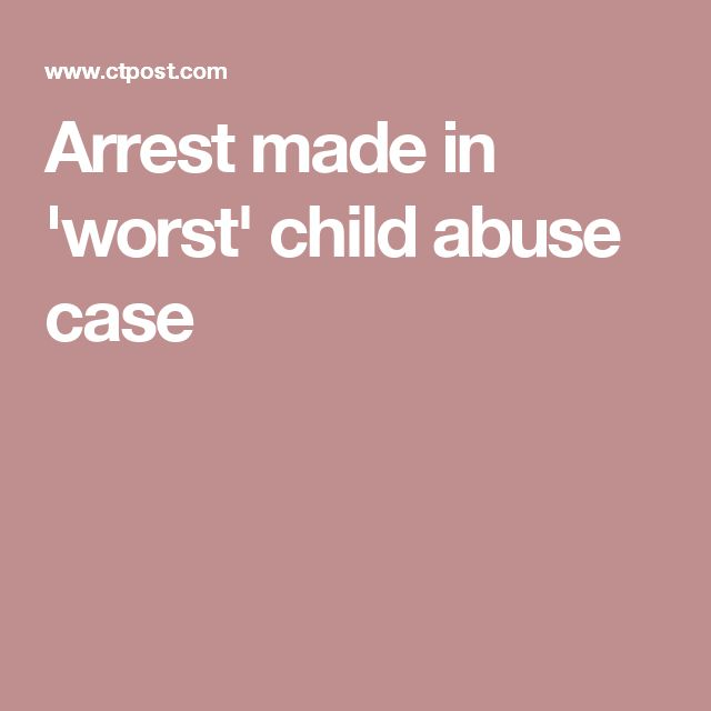 Arrest made in 'worst' child abuse case