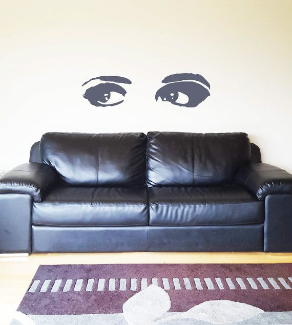 Bedroom eyes, bathroom eyes, anywhere eyes. Decorate any wall, window, door or surface in your home, holiday house, office, shop or rental