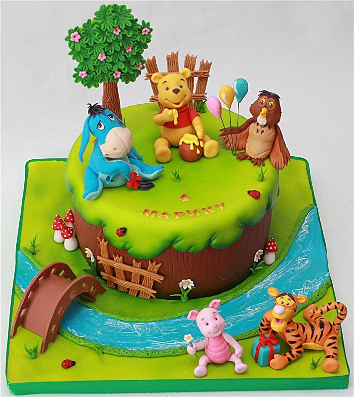 719 best Disney's Winnie the Pooh and Friends Cakes images ...