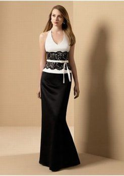 légante robe de demoiselle d'honneur à long