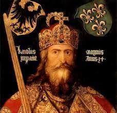 (45) 500 – Con la dinastía carolingia (que sustituye a los merovingios en el siglo VIII), y especialmente a partir de la coronación imperial de Carlomagno en el año 800, la denomación historiográfica habitual del reino franco pasa a ser Imperio carolingio.