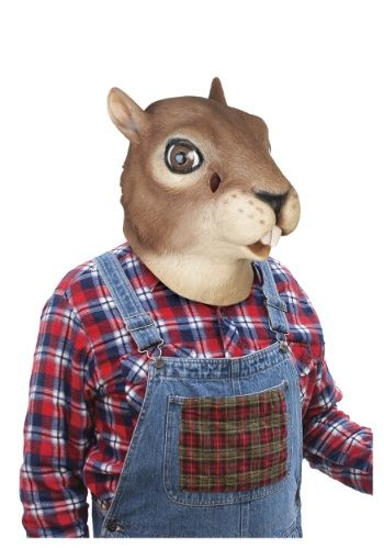Cool Animal Costumes - Squirrel Mask just added...