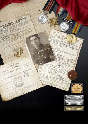Great War Military Medal Group.