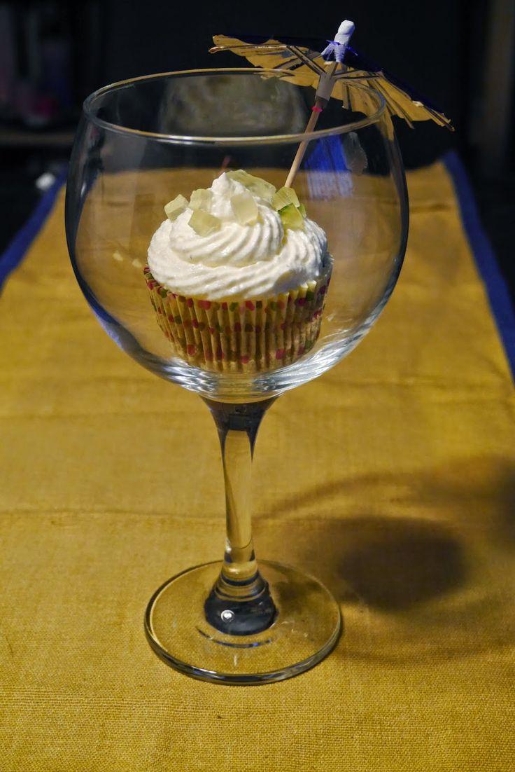 Mr. Washi San: Cupcakes de mojito #cupcakes #mojito #receta #mrwashisan