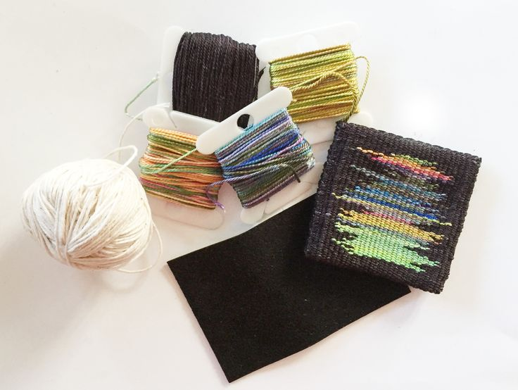 mini tapestries - kits from Mirrix Looms