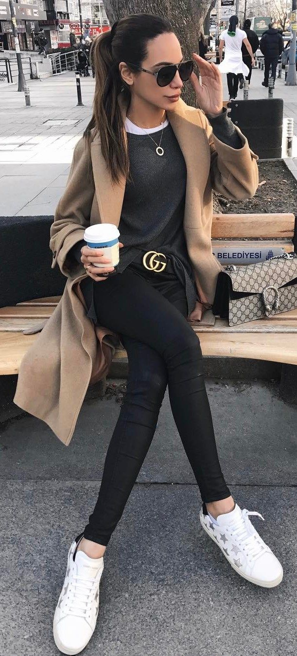 fall casual outfit idea