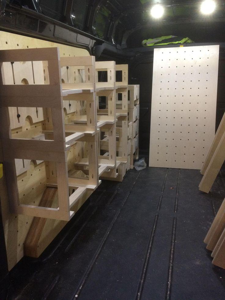 1 New Van Van Storage Van Shelving Van Interior