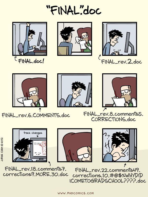 PHD Comics: notFinal.doc