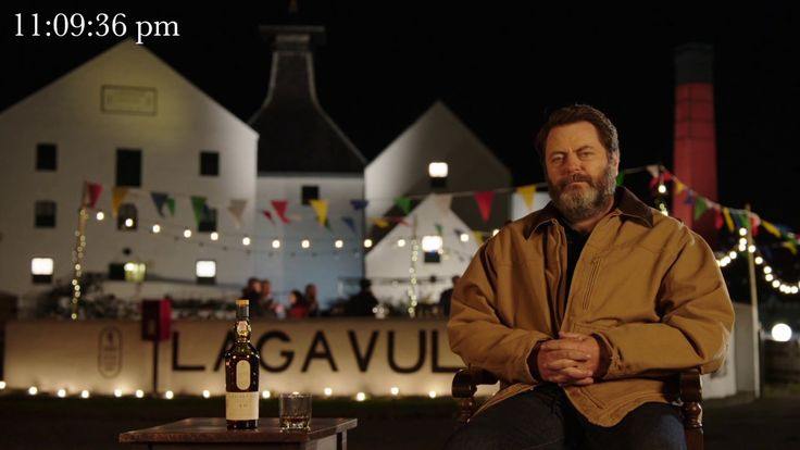 Ten Hours of Nick Offerman staring into Your Soul While Sipping Scotch
