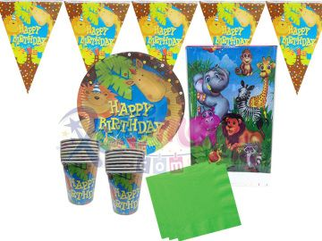 Orman Hayvanları Doğum Günü Parti Seti