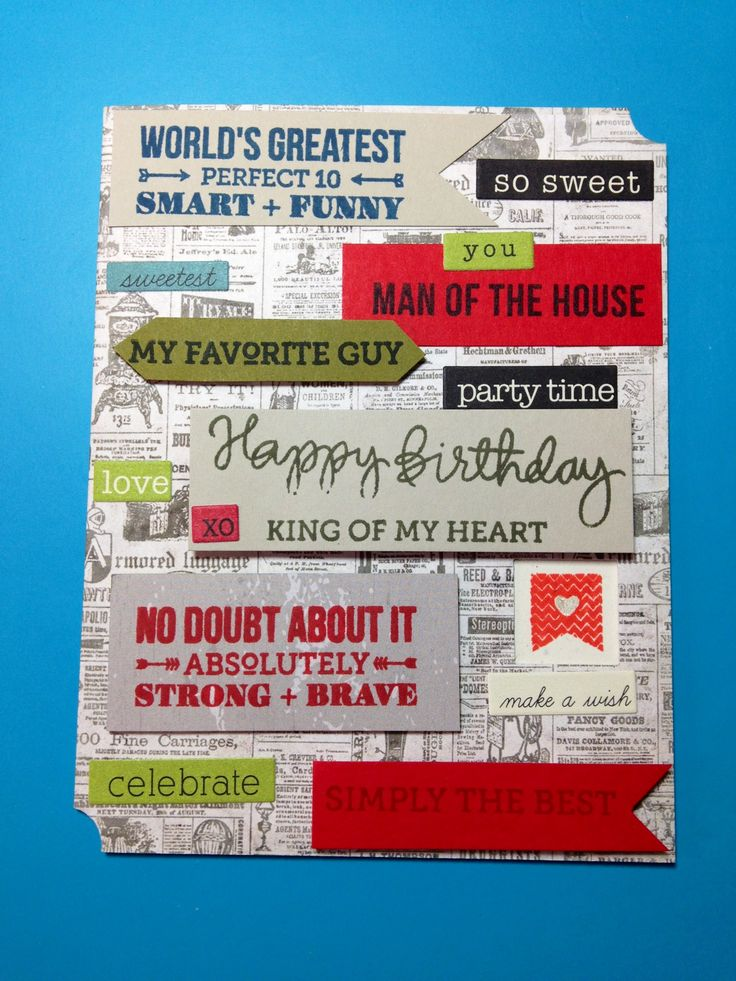 Birthday card for my husband Avery Elle, Wplus9 stamps and