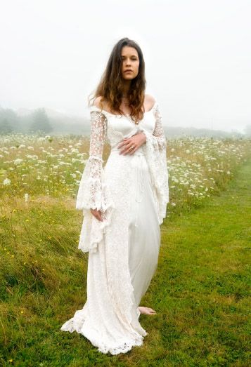 Designer Custom Wedding Gowns and Dresses   Fashion, Designer, Custom, Couture   Katherine Feiel Wedding Gowns   Queen Anne's Lace