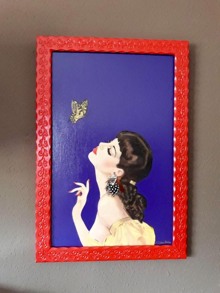 Mejores 46 imágenes de Arte PIN UP GIRLS . Piezas únicas ...