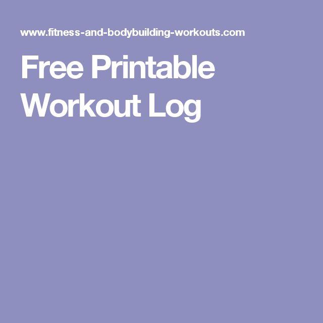 62 besten Workout Bilder auf Pinterest   Flügel, Trainings chart und ...