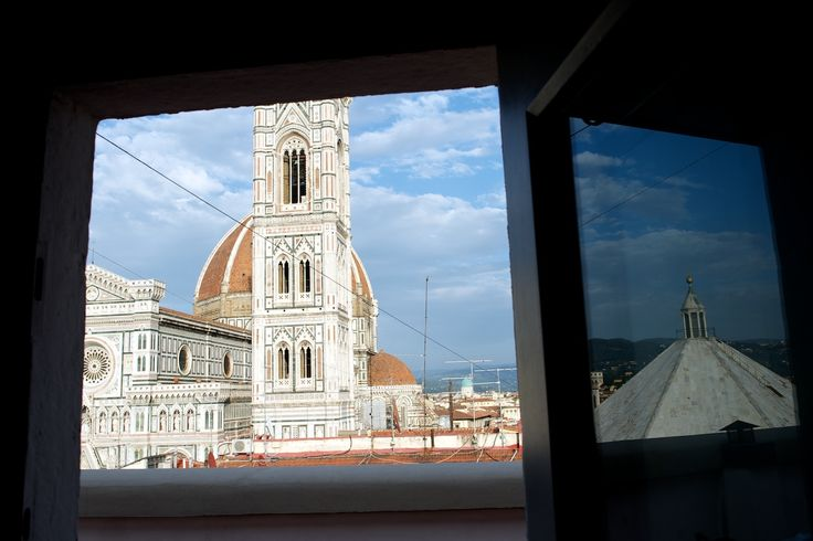 From Studio Top  Roof's window http://www.florencewithaview.com/