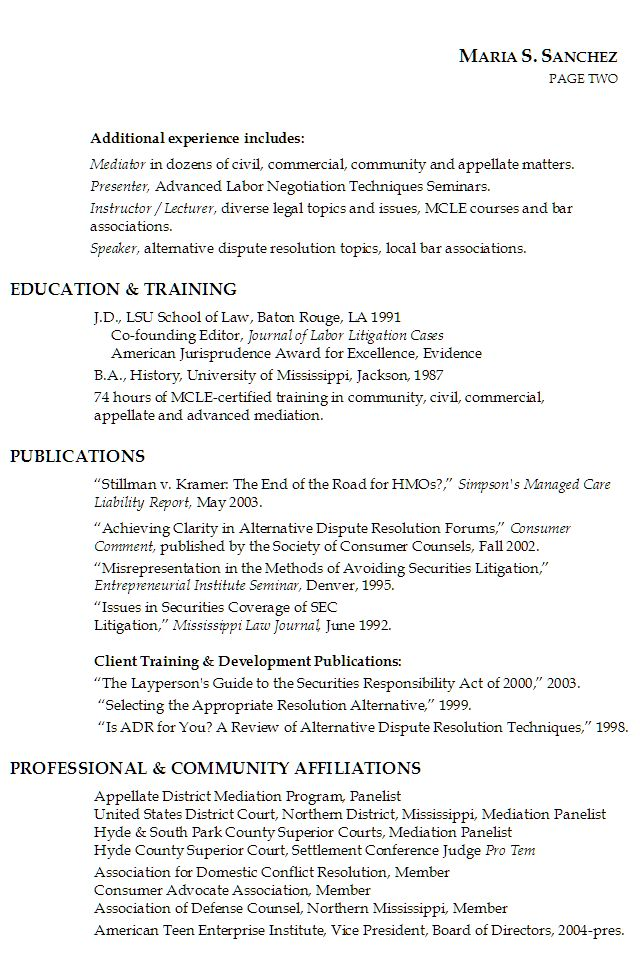 Sample Resume Paralegal Volumetrics Co Senior Immigration Lewesmr  Patent Attorney Resume