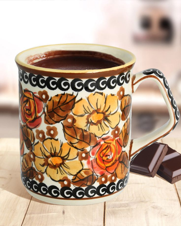 Perfect to take delight in hot chocolate!