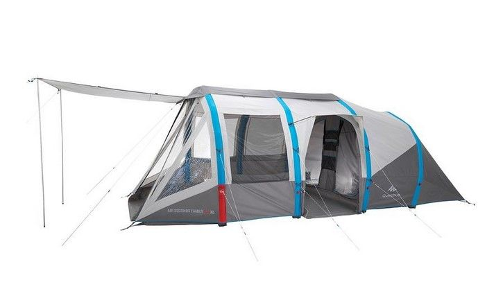 Air Seconds Family 6 3xl Quechua Pas Cher Tente Decathlon Camping En Tente Tente Decathlon Decathlon