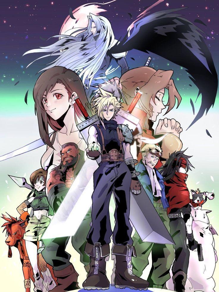 Final Fantasy Vii Final Fantasy Artwork Final Fantasy Final Fantasy Art