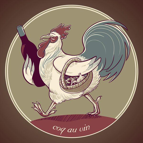 Coq Au Vin by Kari Fry.: Kari Fries, Je T Aimee, Coq Au Vin, Toujours Français, France Je, Je Plant, Monde France