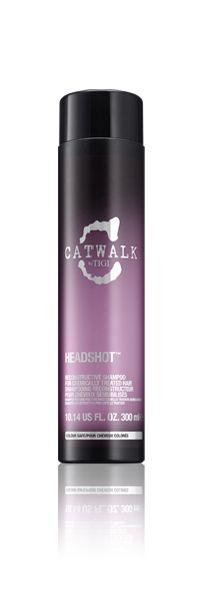 Catwalk TIGI Headshot shampoo - Maravilhoso! Meu cabelo amou, agora quero usar o condicionador. O cheiro é bom demais!