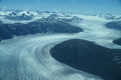 Glaciers - If the polar ice caps melted, how much would the oceans rise?