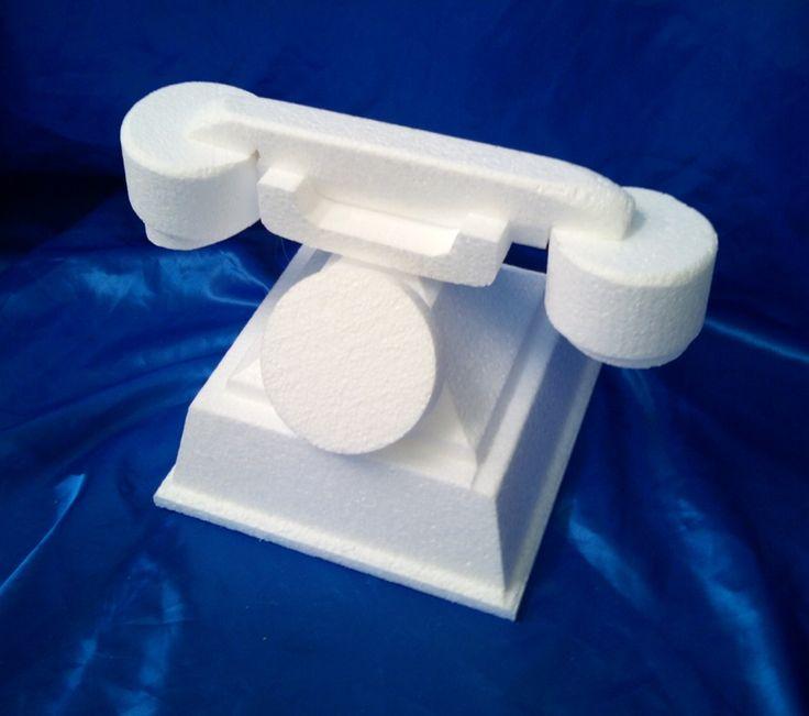 Old fashioned telephone cake dummy