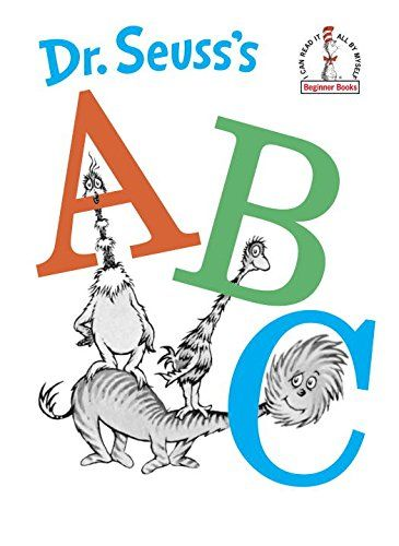 Dr. Seuss's ABC  (Beginner Books, I Can Read It All By Myself) by Dr. Seuss http://www.amazon.com/dp/0394800303/ref=cm_sw_r_pi_dp_-wcRvb05VTHSC