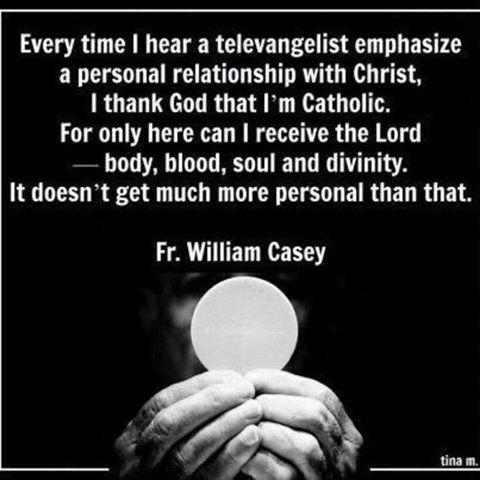 thankful to be Catholic