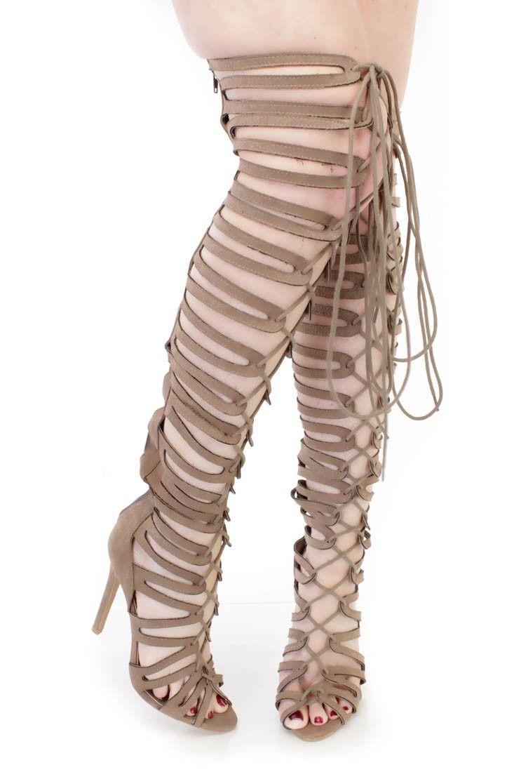 3 Inch Gladiator Heels
