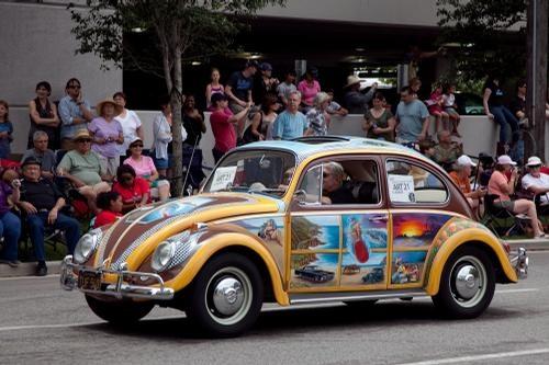 The California Surfer Dude - 2010 Houston Art Car Parade 2010