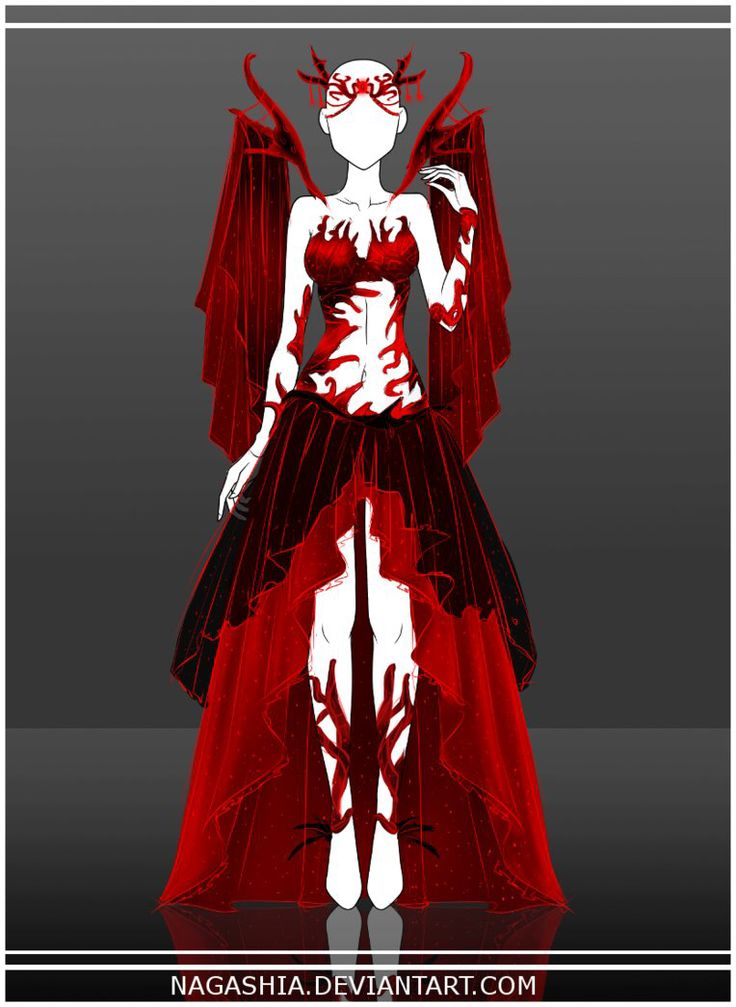 perfect mystic demonic queen outfit