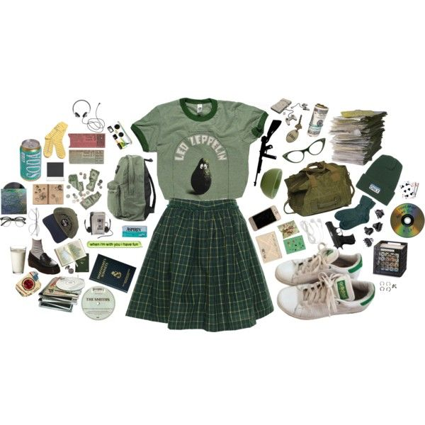 avocado by cloudgogh on Polyvore featuring polyvore fashion style Tommy Hilfiger Brora adidas ONLY NY Wildfox H&M Polaroid Sony