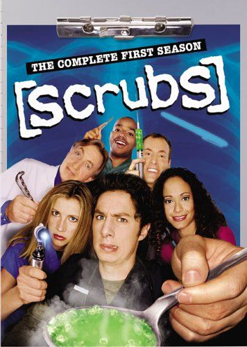 Scrubs - The Complete First Season DVD, Actors: Zach Braff, Sarah Chalke, Donald Faison, Ken Jenkins, John C. McGinley