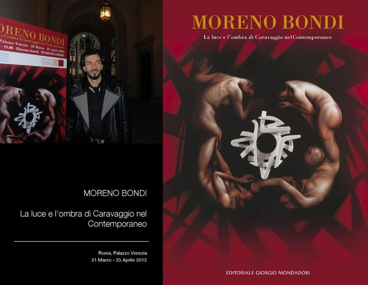 La luce e l'ombra di Caravaggio nel Contemporaneo: THE EXHIBITION  A journey inside the Moreno Bondi  show  at Palazzo Venezia in Rome.