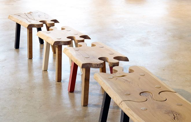 Puzzle Bench by Pierre Cronje, South Africa