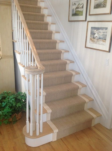 traditional staircase  stair runners