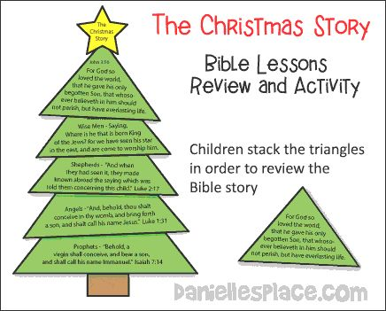the christmas story bible lesson review and game from wwwdaniellesplacecom new crafts on danielles place of crafts and activities pinterest