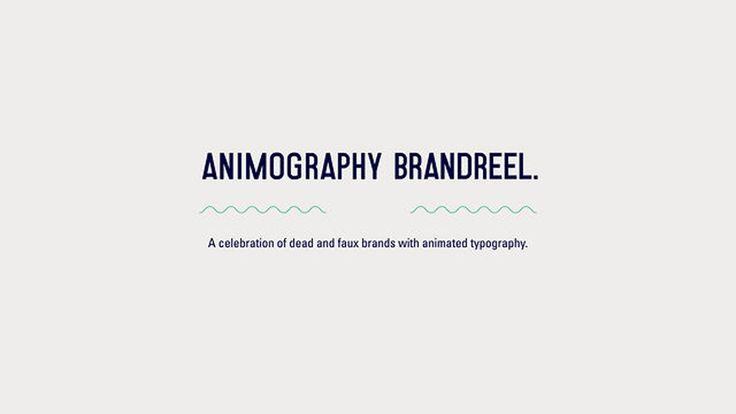 Animography - Brandreel on Vimeo