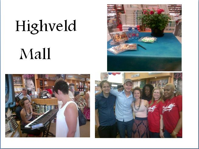 CUM Highveld Mall is celebrating 22 years! CD Signing - ANJA 19 Oct 2013