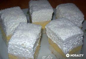 Kókuszos krémes Edit konyhájából