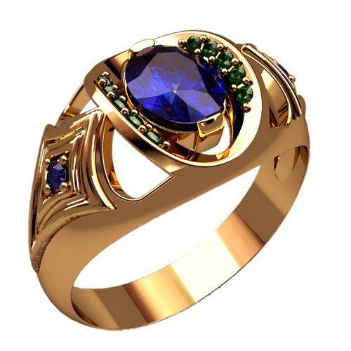 Unusual Mens Signet Ring, Yellow Gold Mens Ring, Unique Signet Ring, Mens Gold Ring, Original Design Mens Signet Ring, Mens Jewelry, Unique Mens