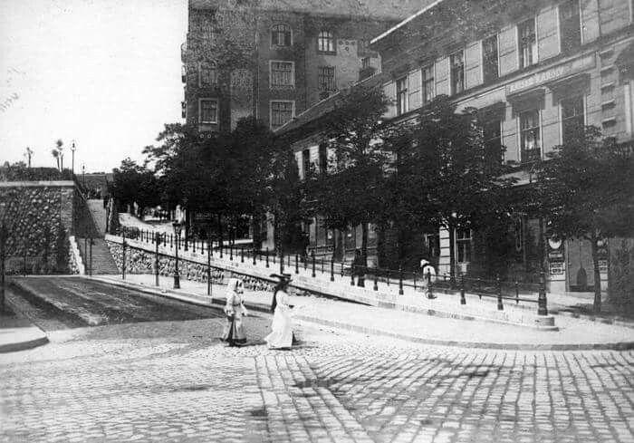 Margit utca 1910 körül