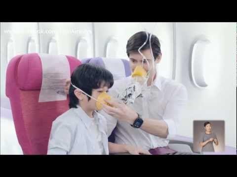 Thai Airways Safety Demonstration Video (2012)